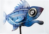 Hydropolis - Mechanical Fishes in mostra a Siena